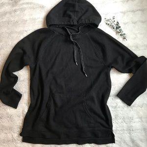 Waffle weave hoodie